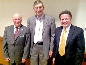 Winston Salem Rescue Mission Directors Past and Present from left: Wilcox, Parsons, Heater